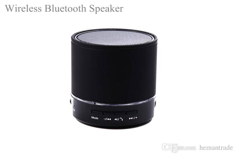Bluetooth Black Speaker Support TF FM USB Speaker For iphone 4 4s 5 Mini Bluetooth Speaker cylinder