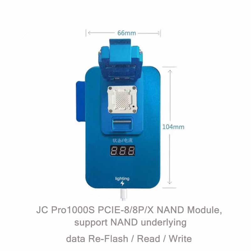 JC PCIE IPhone 8 8P X NAND Underlying Data Programmer Test Fixture