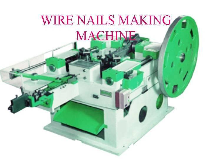 ASIAN WIRE NAILS MAKING MACHINE