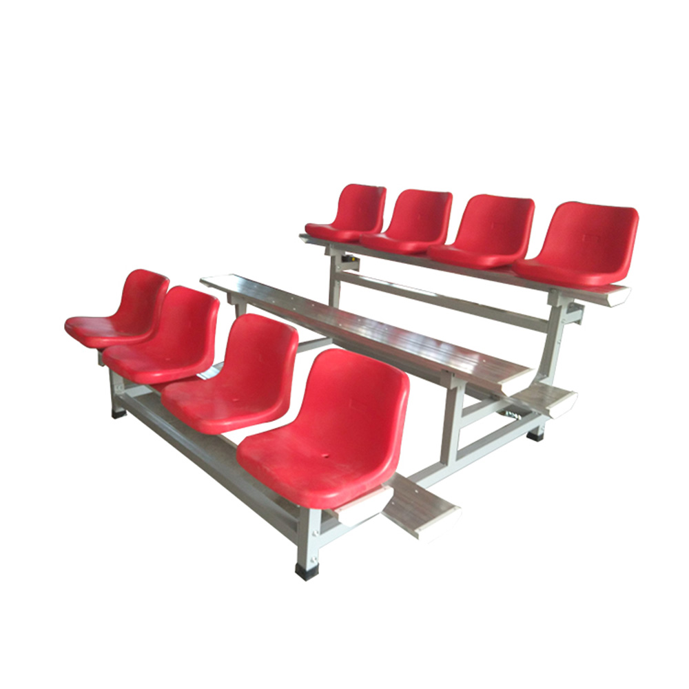 Football Sunlight UV proof HDPE material bleacher stadium seat