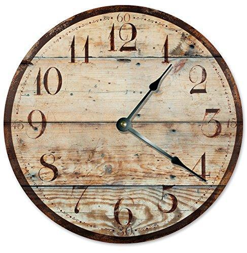 Custom Design Wooden Wall Clock