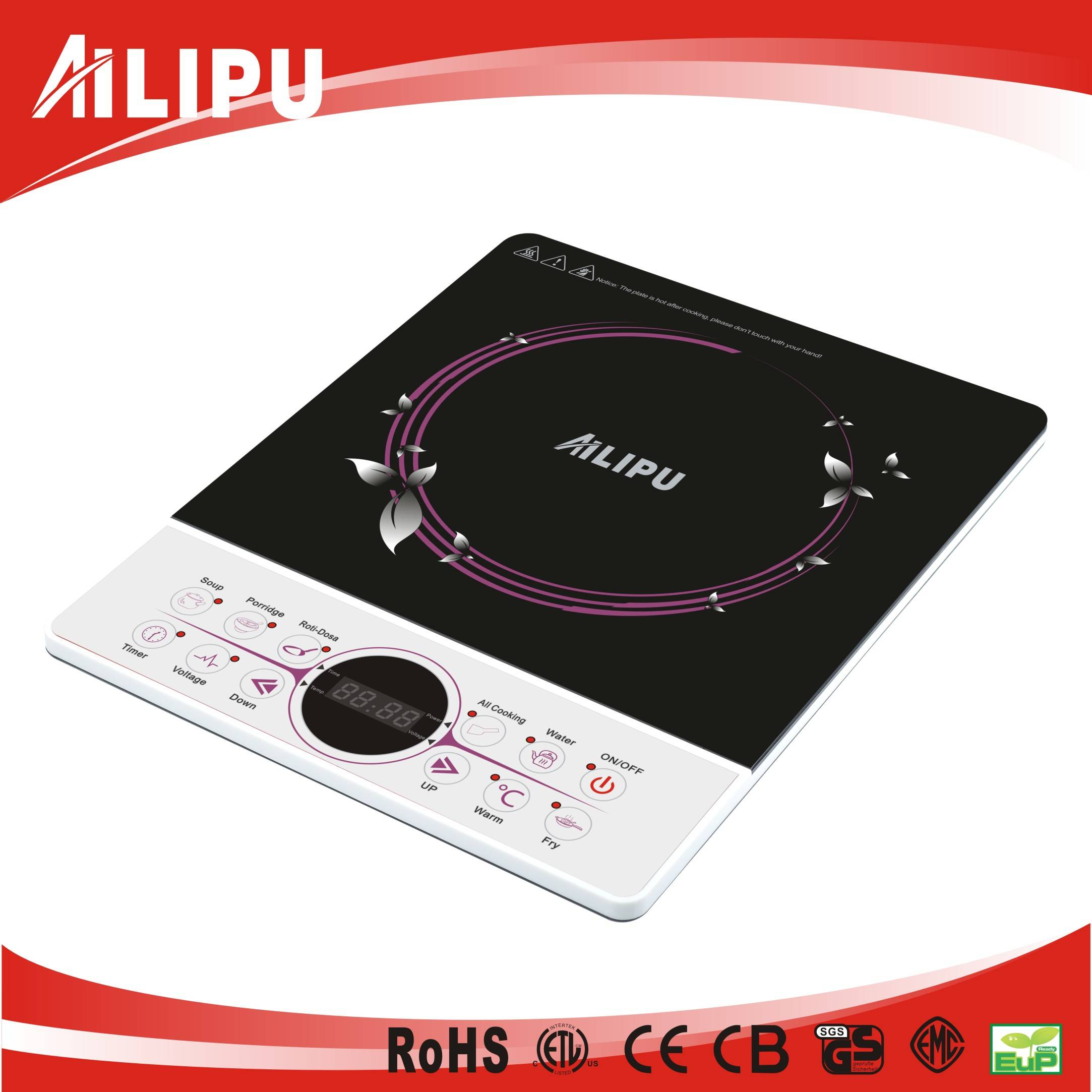Ultra-Thin (4.0CM) Push Button Induction Hot Plate SM-A1