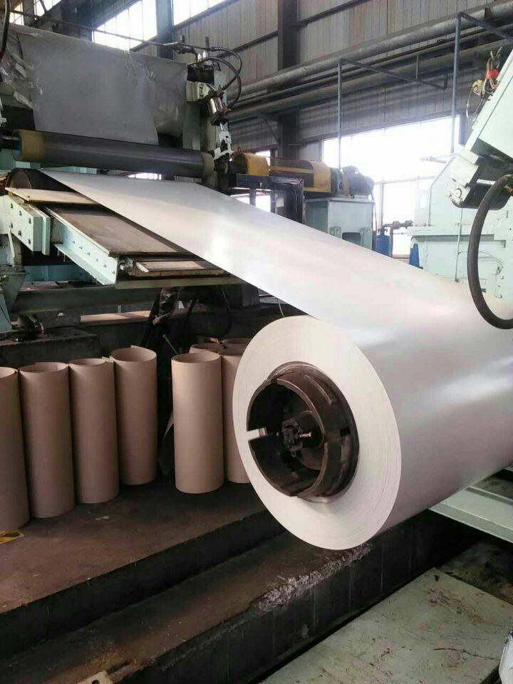 Prepainted galvanized steel coil , galvalume steel coil , color coated PPGI