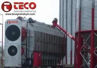Kampagne von Diesel Grain Dryer Maschine für Kleinbauern Unser Unternehmen hat Chargentrockner für K