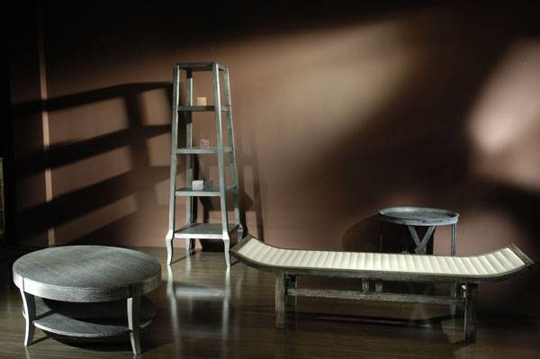 High-end designer furniture: bench, tea table and book shelf - Shanghai JL&C Furniture Co., Ltd