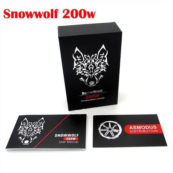 2015 Temperature Control Box Mod 200w snow wolf 200watt snowwolf 200w
