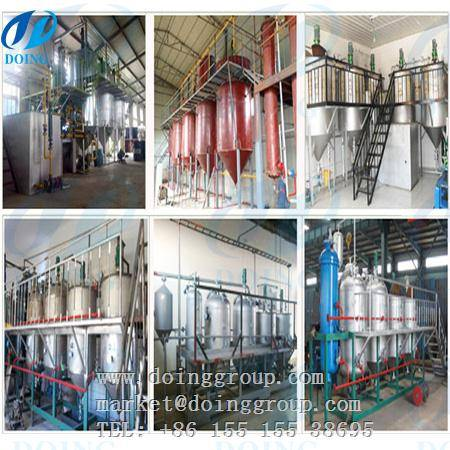 2016 new design rice bran oil extraction plant