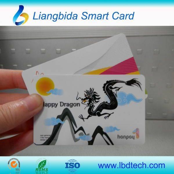 Full color print plastic pvc card