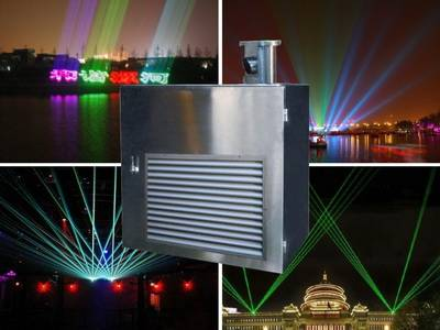 10W Multi Color RGBW Outdoor Waterproof Anti-corrosive Salt Landmark laser light