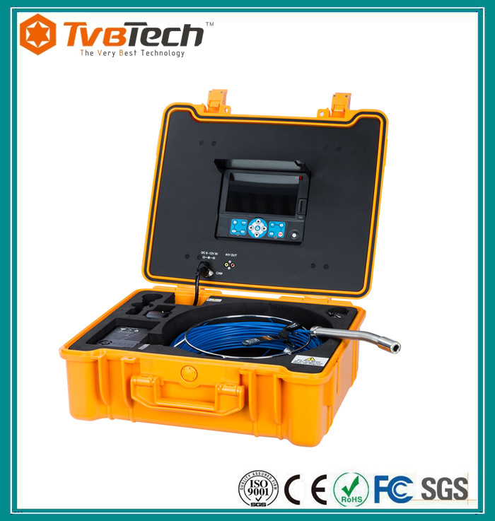 Tvbtech professional video pipeline inspection camera for Sewage