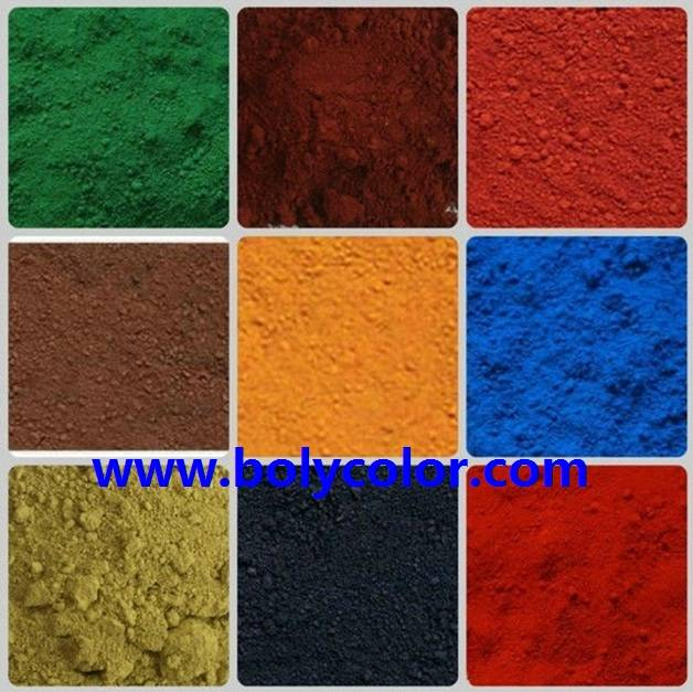 Sell iron oxide pigments from Bolycolor