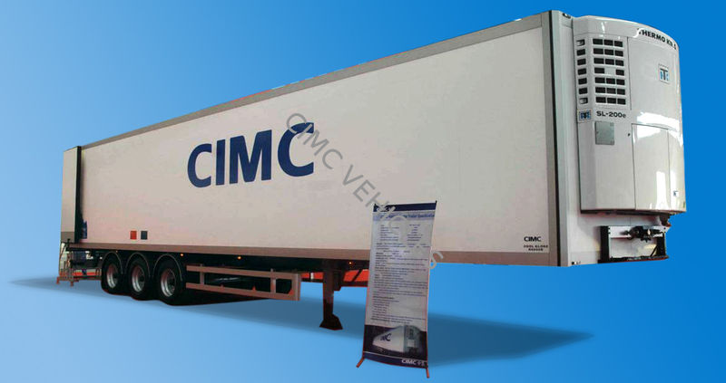 40ft Reefer Semi-trailer Sandwich Panels type