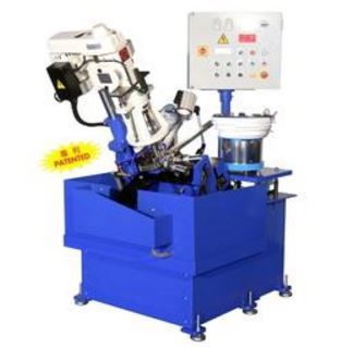 JT-4508E-2S (Double spindle)Slanting type auto feeding tapping machine