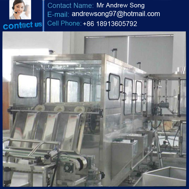 5 gallon Drinking / Pure / Mineral water filling machine equipments