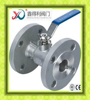 Q41F-64P whose type flanged ball valve