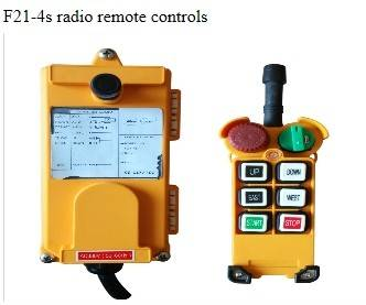 F21-4s radio remote controls