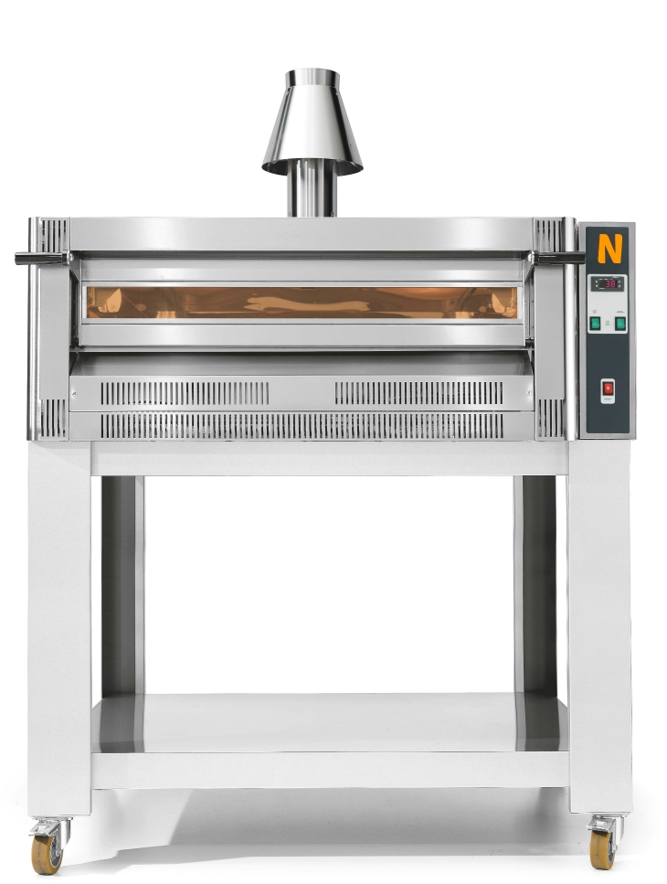PIZZA GAS OVEN, Single deck