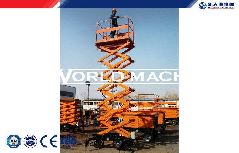 Aerial hydraulic access platforms Mobile Scissor Lift with Emergency button 4 - 18M