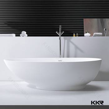 Shenzhen free sample solid surface Bathtub for a small bathroom