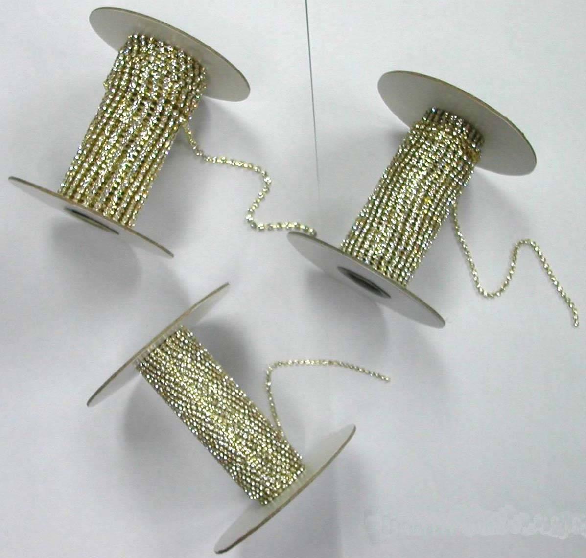preciosa rhinestone cup chain