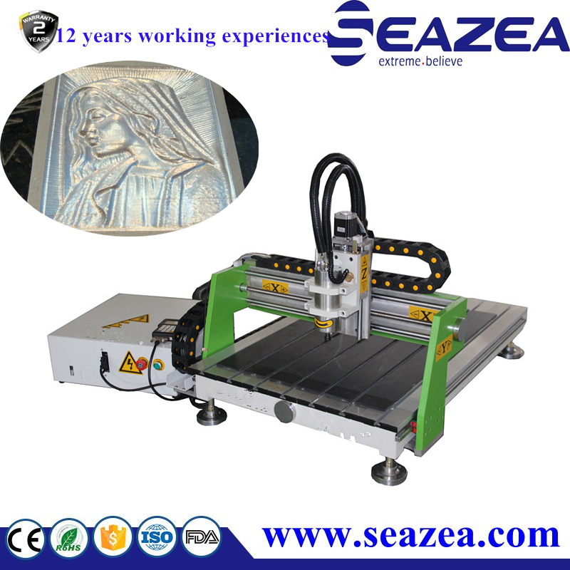mini desktop cnc router machine 600900 for wood stone