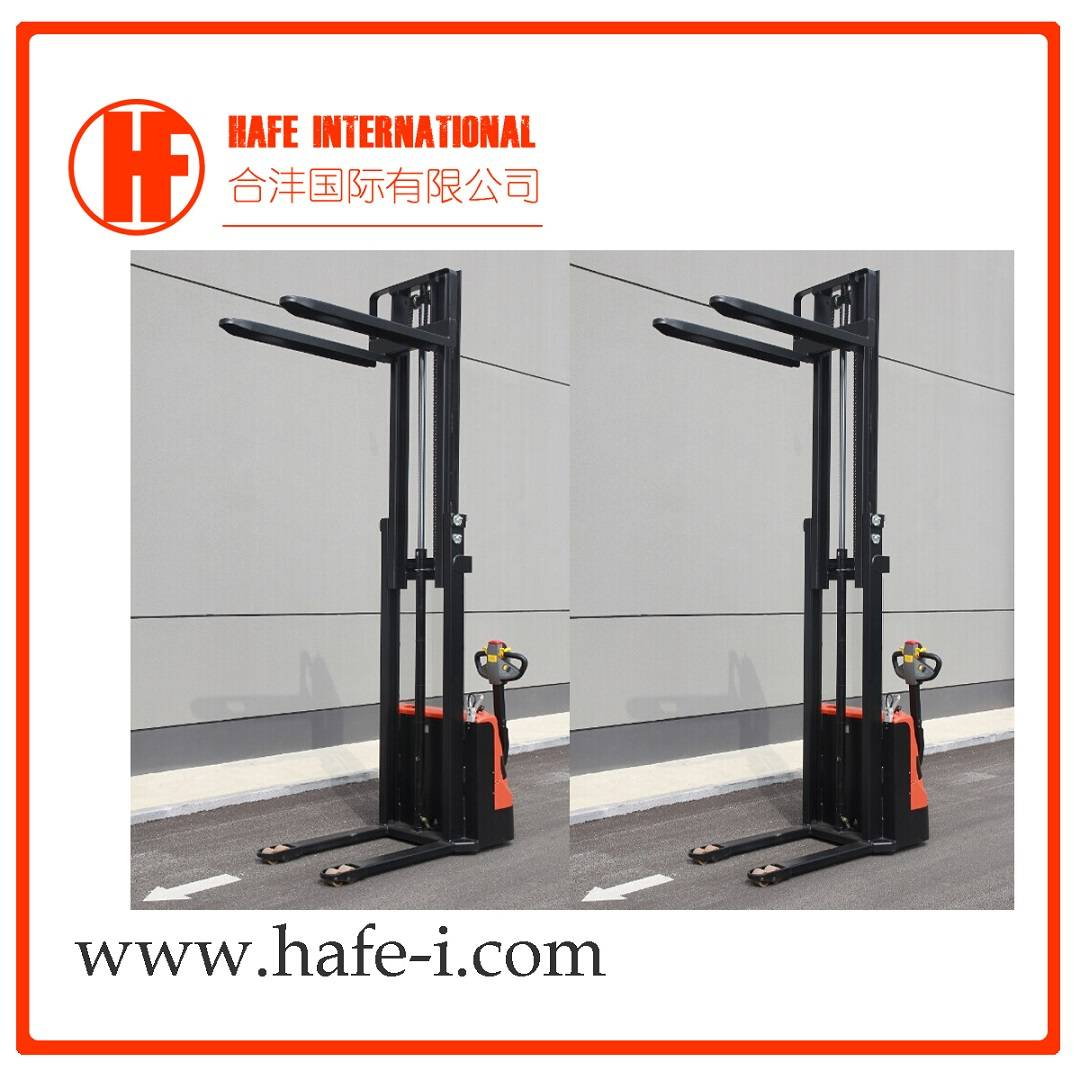 1ton 1t 3m Lifting Height Electric Full AC Stacker with Nice Quality and Cheap Price