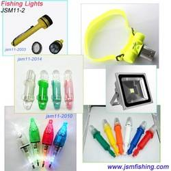 Wholesale 3V underwater led twinkle torpedo fishing net light attracting fishing light