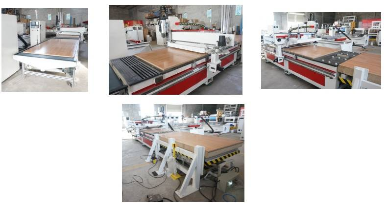 CNC Router CNC Automation Production Line Router Slag 2500