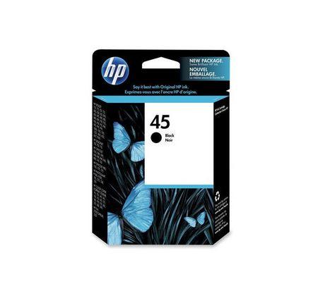 HP 45 black original ink cartriage (51645A)
