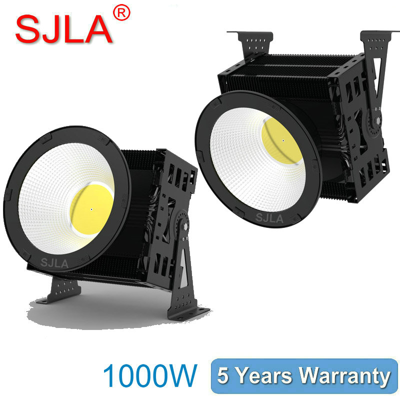 1000W Outdoor Led Floodlight IP65 High Bay Light Warehouse Marketplace Workshop lamp 5Years Warranty