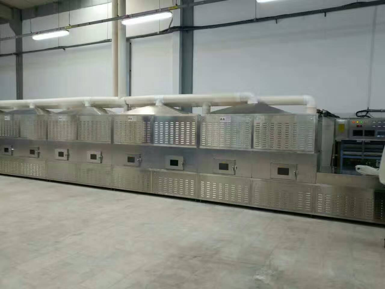 Fruit microwave vacuum drying machine