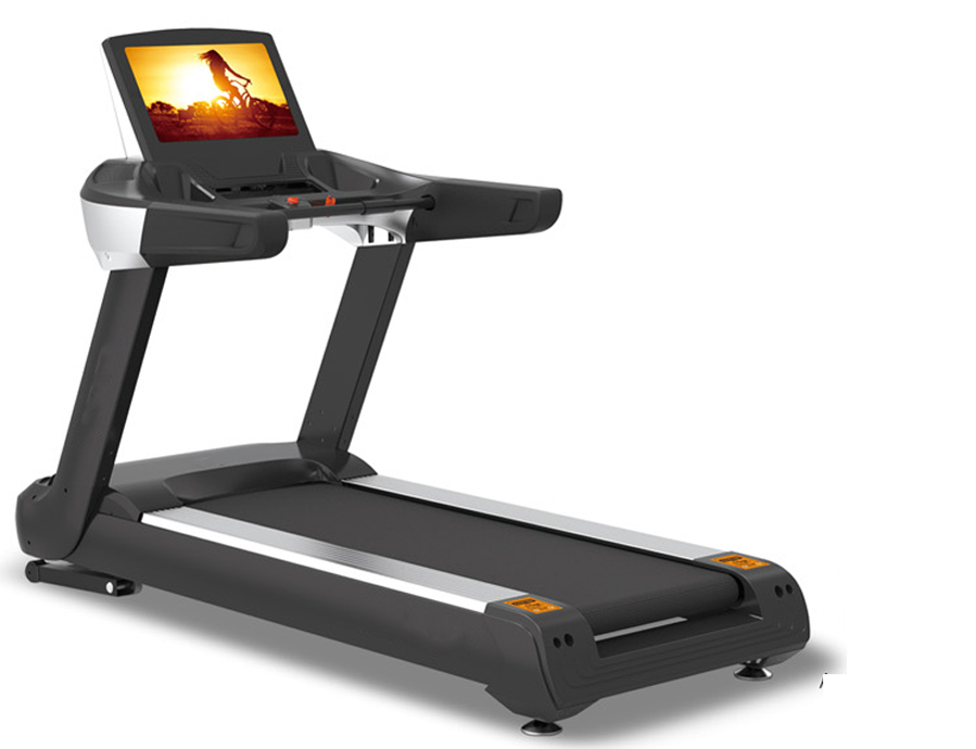 """15.6"""" Color touchable Screen with ascension treadmill"""