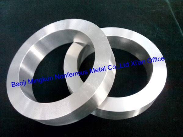 ASTM B381 titanium and titanium alloy forged rings