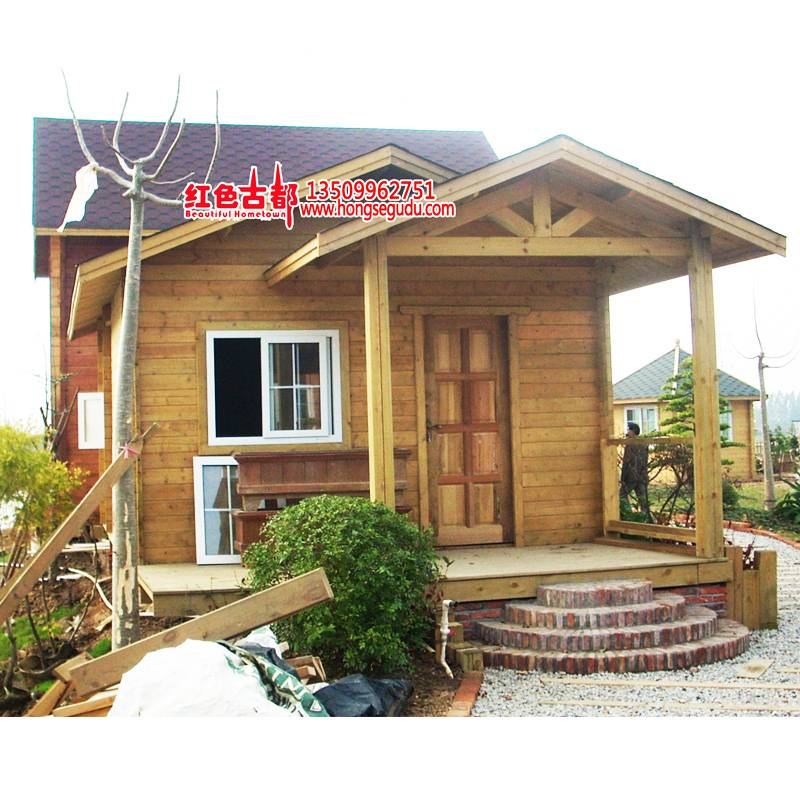 Supply Fireproof Solid Movable Log Cabin House for Residential
