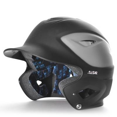 ALL-STAR BH3000MTT Matte Finish 2-Tone OSFA Batting Helmet