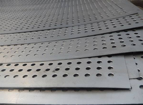 Galvanized Steel Perforated Metal