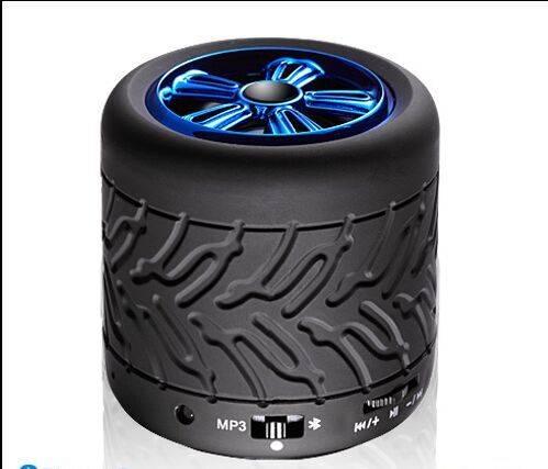 Wheel bluetooth speaker