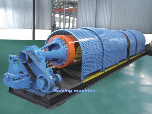 1000/1+6 Tubular stranding machine for local system 7-core twisted strand, copper wire