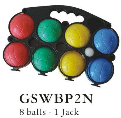 Plastic Bocce Ball Set