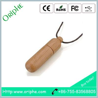 business gift 1gb wooden USB flash drive from Oriphe