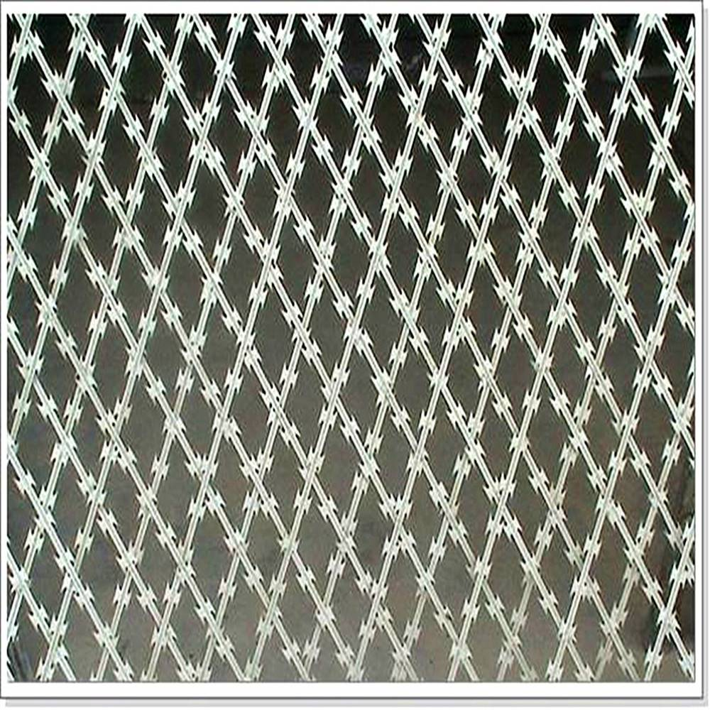 CE Certificate Razor Wire Fencing 20 years Factory Verifirf