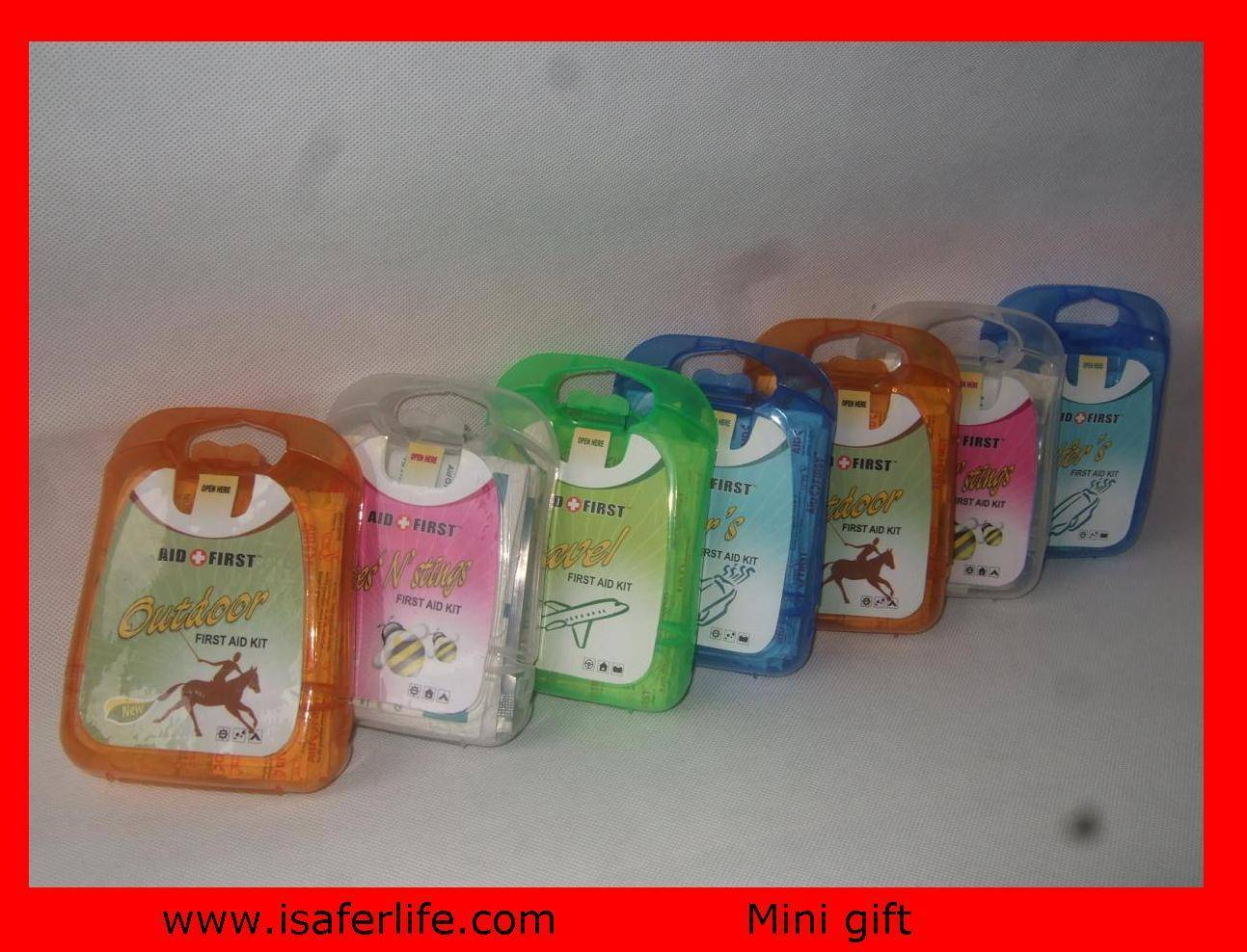 2011 NEW under USD1 PROMOTIONAL GIFT Medical premium FA201 First Aid Kit