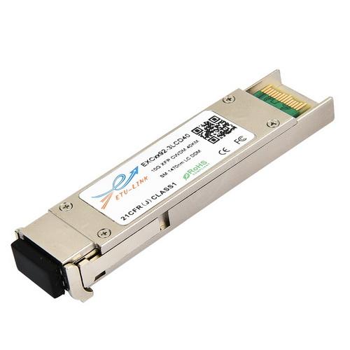 10G SM CWDM 40KM DDM LC XFP Transceiver