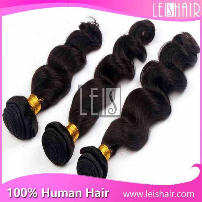 Tangle free virgin wholesale indian temple hair loose wave