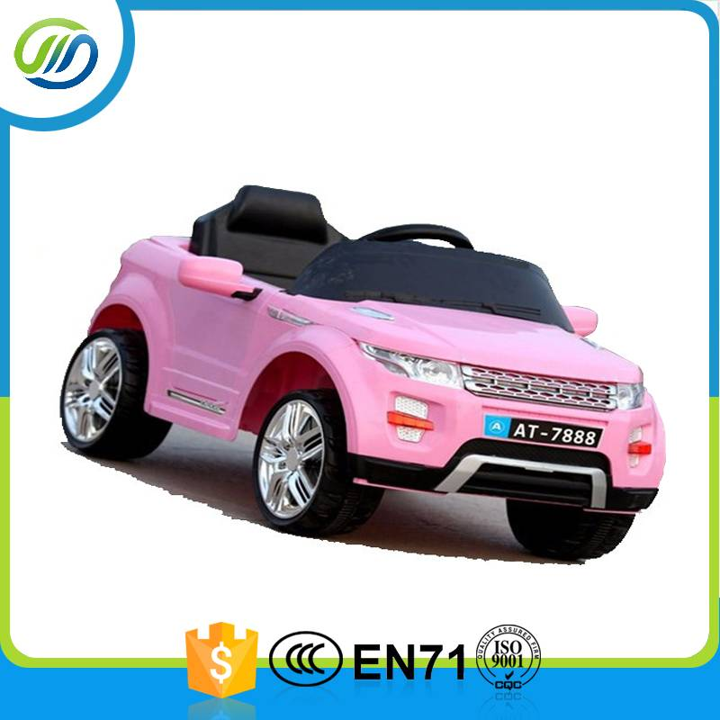 Small dimension plastice electric ride on car for baby
