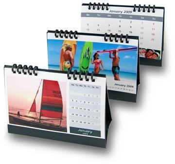 DIY Photo A5 size Calendar For Inkjet Printer