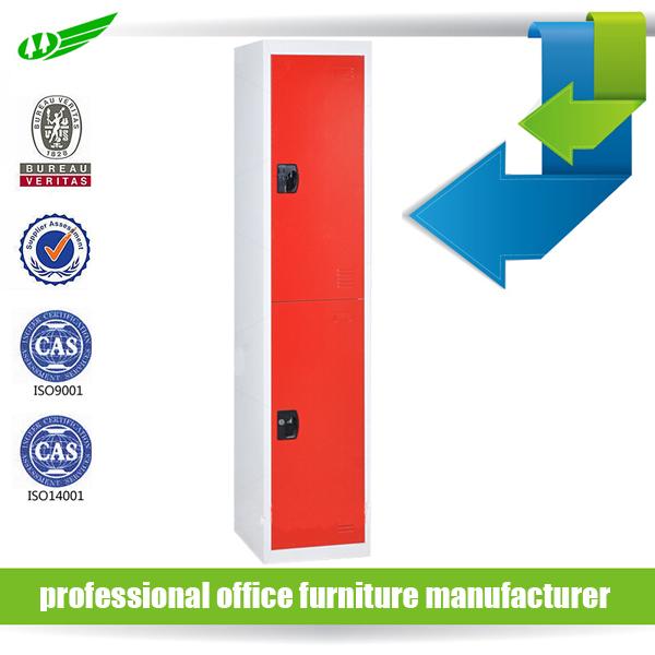 Competitive price different color 2 door steel locker