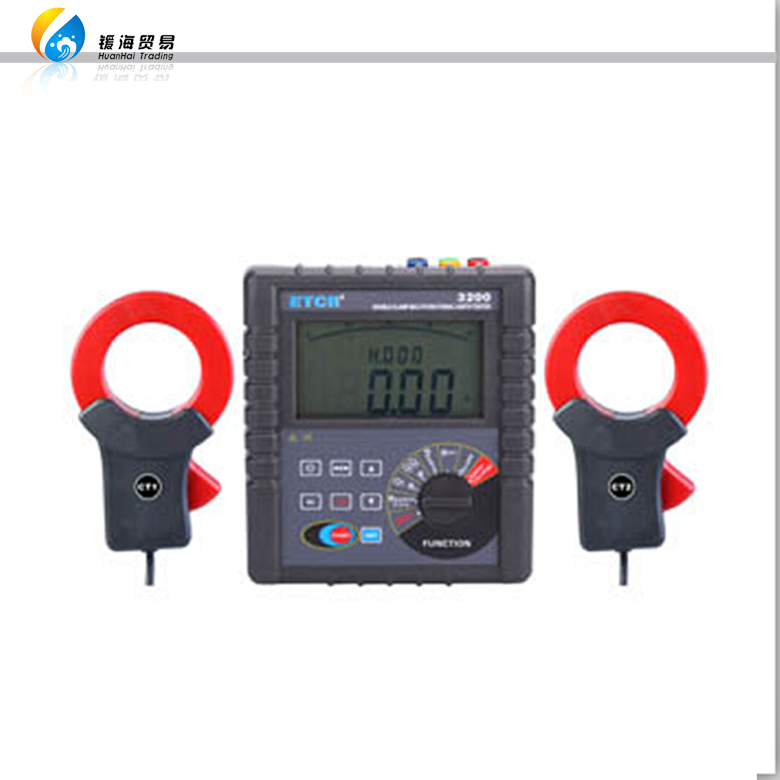 HZRC300 low price portable digital clamp on earth resistance tester