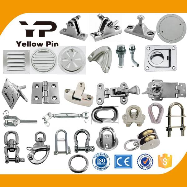 Deck hinge vent lock lift handle lock hasp turnbuckle terminal rigging screw shackle thimble wire cl