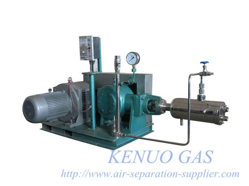 Cryogenic liquid Cylinder Filling Pump